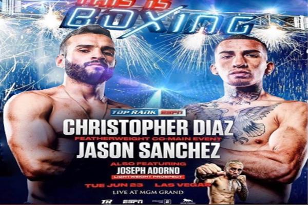 Previa: Christopher Díaz vs. Jason Sánchez, una pelea crucial para sus carreras