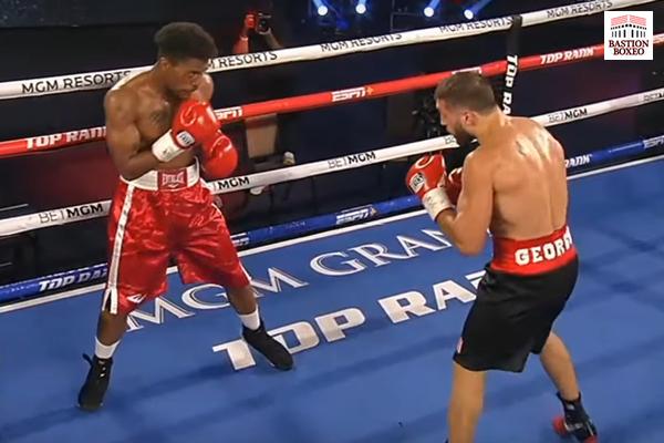 Nikoloz Sekhniashvili derrotó ampliamente a Isiah Jones