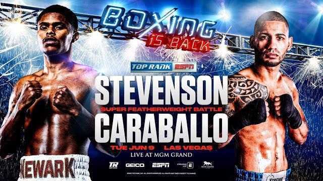 Previa: Shakur Stevenson pelea sin título en juego ante Caraballo el próximo martes
