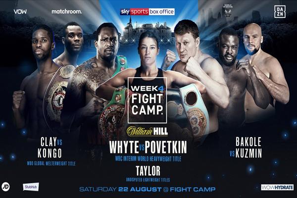 Matchroom Boxing anuncia cuatro buenos eventos para el mes de agosto
