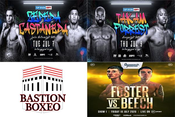 Los mejores combates de la semana (6-12/7/2020)