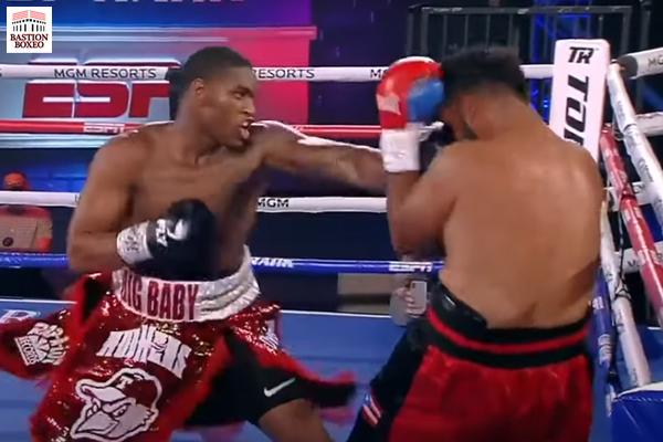 El peso pesado Jared Anderson venció por KO en un round. Triunfos de Jules y Davis