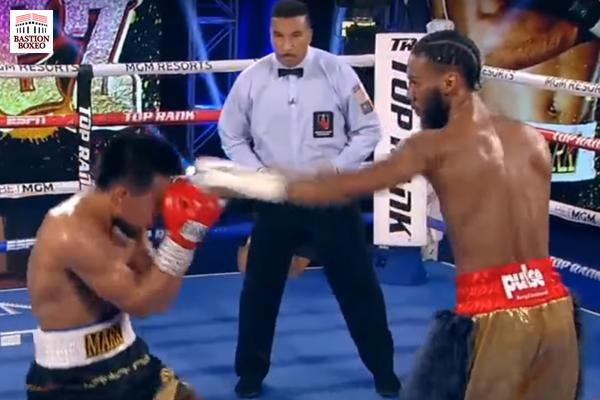 Albert Bell dio recital de boxeo elusivo para vencer a Bernáldez