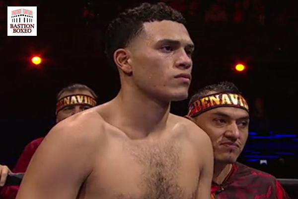 El campeón mundial supermedio David Benavídez y el peso pesado Wallin compartirán cartel en Showtime