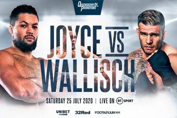 Previa: Joe Joyce pelea contra Wallisch en un rodaje antes de medirse a Dubois