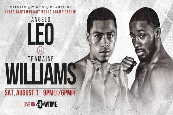 Previa: Los invictos Angelo Leo y Tramaine Williams encabezan el retorno de Showtime con abierto mundial del peso supergallo