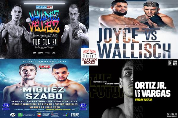 Los mejores combates de esta semana (20-27/7/2020)