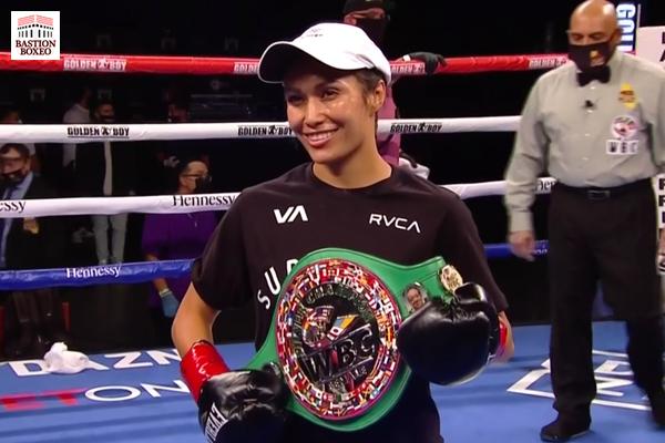 Seniesa Estrada se anotó KO en siete segundos. Victorias de Valdez y Sánchez