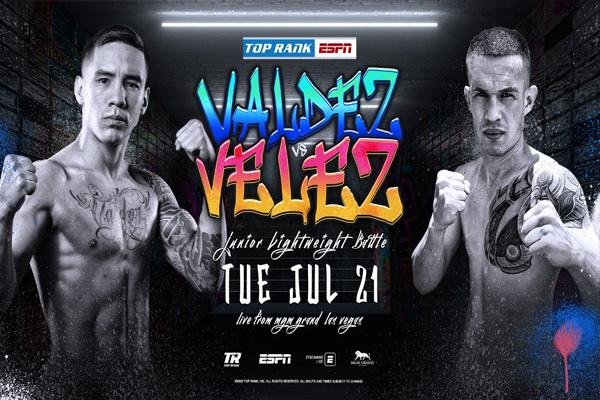 Previa: Óscar Valdez se enfrenta a Jayson Vélez como preparación para combate contra Berchelt