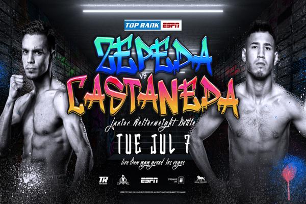 "Previa: El exretador mundial ""Chon"" Zepeda encabeza mañana velada de ESPN contra Kendo Castañeda"