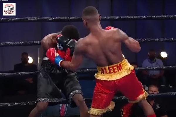 Aleem dominó a Bates antes de KOT, George remontó con brutal KO sobre Escudero