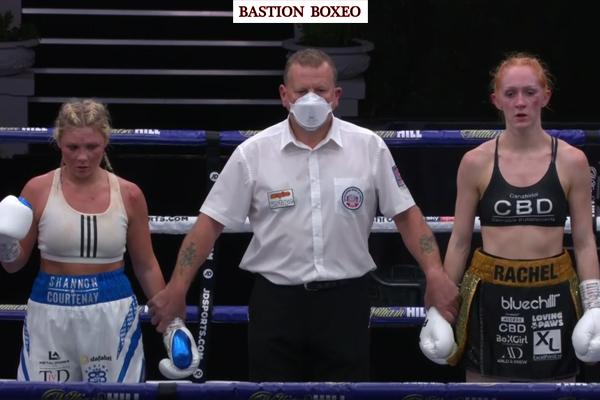 Barrett logró espectacular victoria en gran combate contra Donovan y Rachel Ball derribó y venció a invicta Courtenay