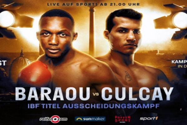 Cuclay logró cuestionable victoria dividida ante Baraou en semieliminatoria del peso superwélter