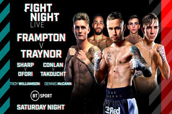 Previa: Frampton disputa rodaje este sábado antes de pelear en mundial WBO del peso superpluma