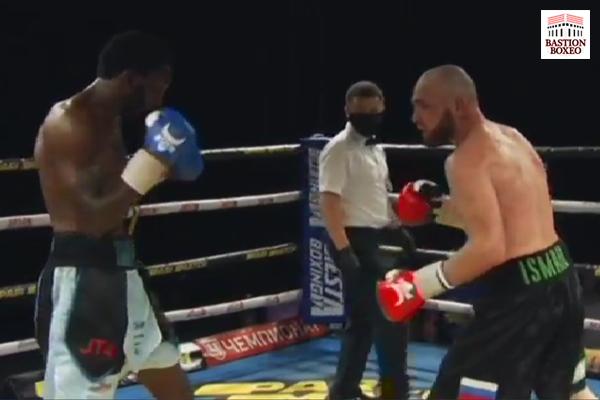 El ruso Ismail Iliev derrotó en entretenido combate al británico Asinia Byfield