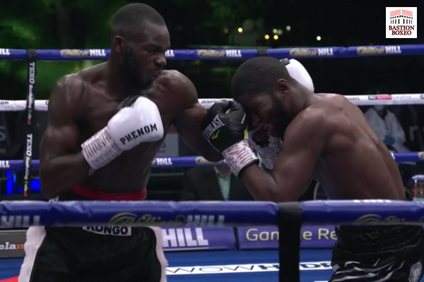 El invicto Chris Kongo logró victoria en el noveno round sobre duro Luther Clay