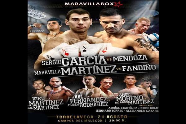 """Previa: """"Maravilla"""" Martínez regresa al boxeo 6 años después acompañado de Sergio García, Kiko Martínez, Jon Fernández, etc."""