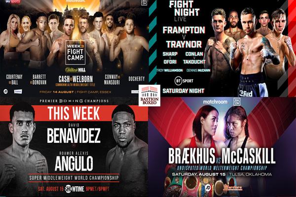 Los mejores combates de esta semana (10al17/8/2020)