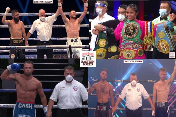 Resultados de los mejores combates de la semana (10al17/8/2020)