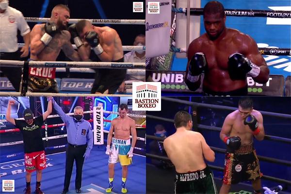 Resultados de los mejores combates de la semana (24al30/8/2020)