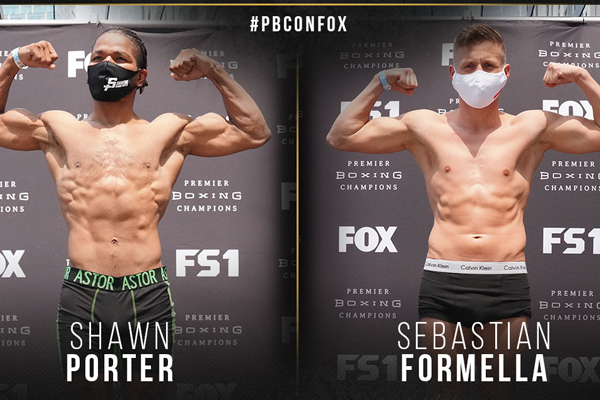 Resultados del pesaje del evento Shawn Porter vs. Sebastian Formella