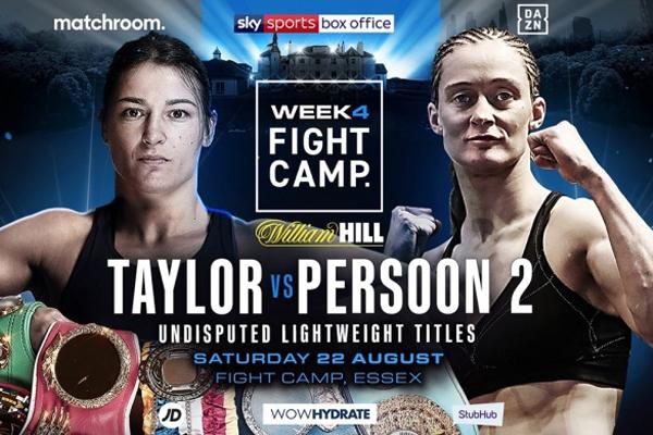 Previa: Katie Taylor y Delfine Persoon combaten en la revancha más esperada del boxeo femenino