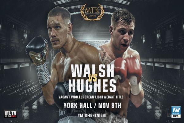 Vídeo del combate entre Maxi Hughes y Liam Walsh