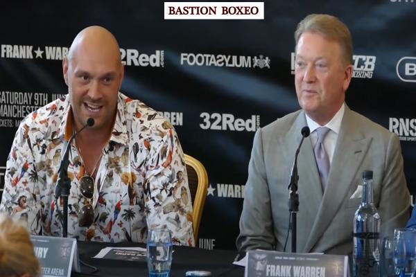 Tyson Fury no peleará el 5 de diciembre y regresará en 2021