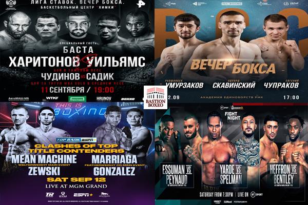 Los mejores combates de viernes y sábado (11y12/9/2020)