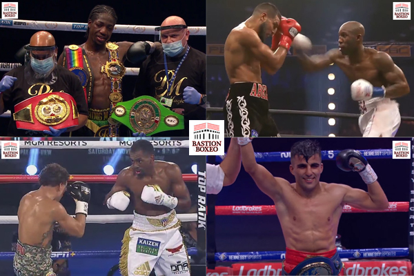 Resultados de los mejores combates de la pasada semana (2al6/9/2020)