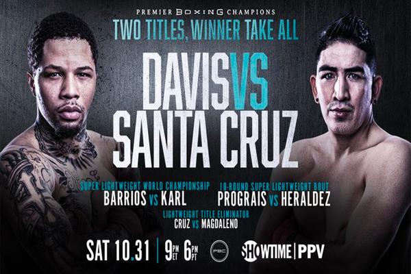 Previa: Gervonta Davis y Santa Cruz se enfrentan en trascendental duelo para su prestigio y su estatus