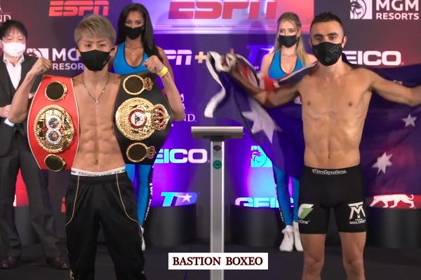 Resultados y vídeo del pesaje de los combates Inoue-Moloney y Mayer-Brodnicka: la campeona perdió su cetro mundial en la báscula