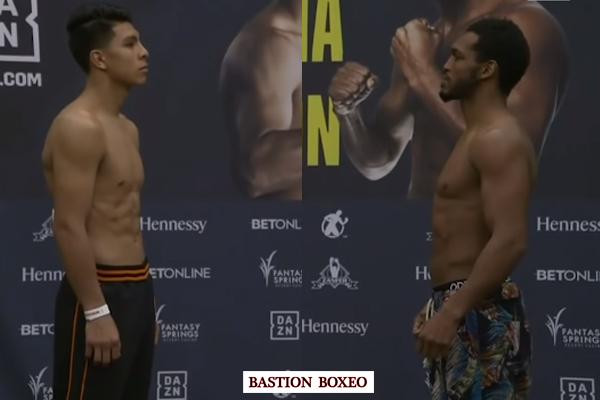Resultados y vídeo del pesaje de la velada Jaime Munguía vs. Tureano Johnson