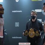 Pesaje del combate entre Lewis Ritson y Miguel Vázquez
