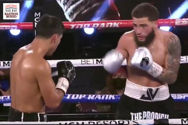 Josué Vargas presentó candidatura a importantes peleas en el peso superligero con gran actuación ante Kendo Castañeda