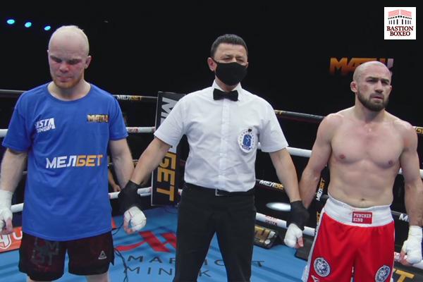 El prospecto ruso Bagautinov logró nuevo triunfo, Alan Abaev y Magomed Rasulov debutaron con victoria