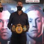 Cara a cara tras el pesaje para el combate entre Conor Benn y Sebastian Formella
