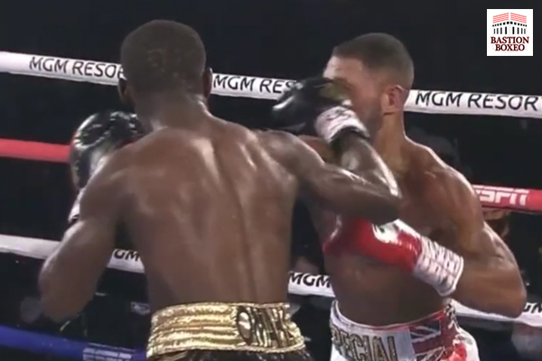 El top 3 libra por libra Crawford terminó en cuatro asaltos con el excampeón Kell Brook