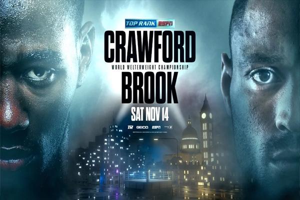 Previa: El top 3 libra por libra Terence Crawford disputa su único combate de 2020 ante el exmonarca Kell Brook