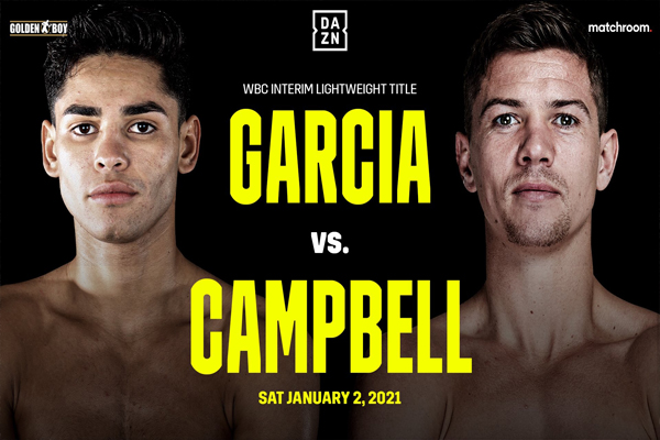 Imagen del cartel del combate Ryan García vs. Luke Campbell