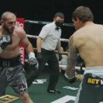 Imagen del combate entre Ali Izmailov y Ruslan Fayfer