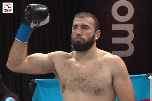 El peso pesado Majidov no encontró rival en Delgado, Tagoe tuvo exigente pelea ante Menard
