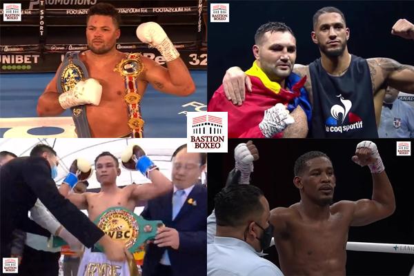 Resultados de los mejores combates del fin de semana (27y28/11/2020)