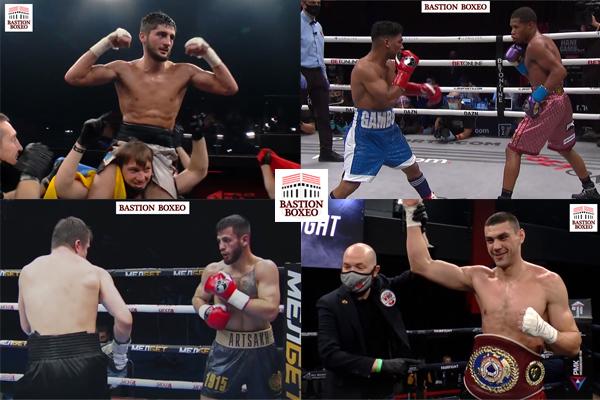 Resultados de los mejores combates de la semana (4al7/11/2020)