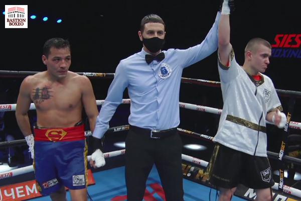 Vladimir Myshev derrotó a Cazares en el duelo estelar de la velada Kold Wars y provocó confrontación con Ali Bagautinov