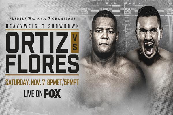 Resultados del pesaje del evento Luis Ortiz vs. Alexander Flores