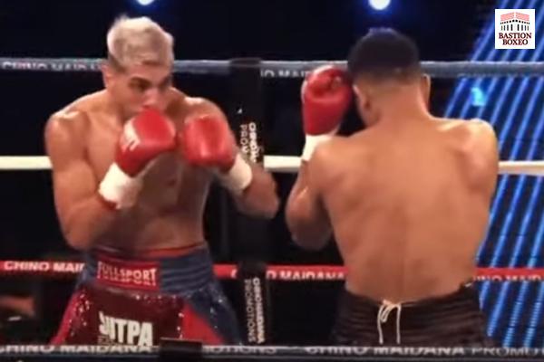 Imagen del combate entre Alejandro Silva y Javier Maciel