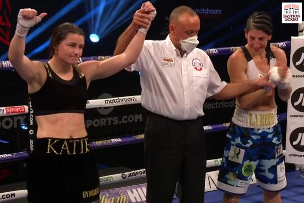Proclamación del combate entre Katie Taylor y Miriam Gutiérrez