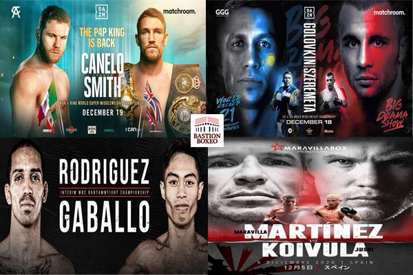 Los mejores combates de esta semana (16al20/12/2020)