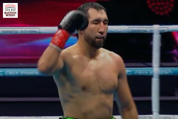 El 2º WBA y 4º WBO supermedio Aidos Yerbossynuly derrotó en tres rounds al olímpico Issah Samir